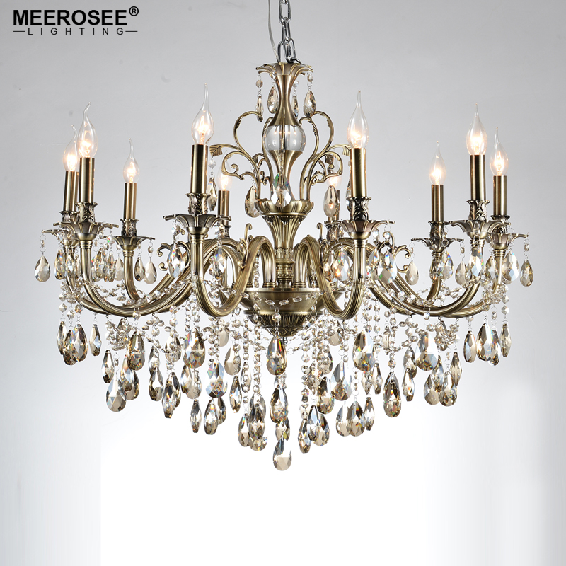 Hot Sale Chandelier Light Fixture 10arms Alloy Luxurious Crystal Chandelier Lamp Light for Living room Dining room Hotel Project