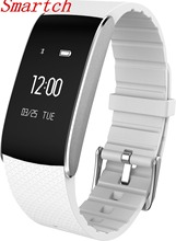 Smartch смарт-браслет A86 спортивные часы сердечного ритма Мониторы удаленного Bluetooth Smart Браслет Шагомер Фитнес smartband remi