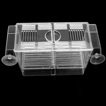 Acrylic Aquarium 3 In1 Suspension Breeding Hatchery Isolation Box With 2 Layers Incubator Fishbowl For Guppy Betta-fish