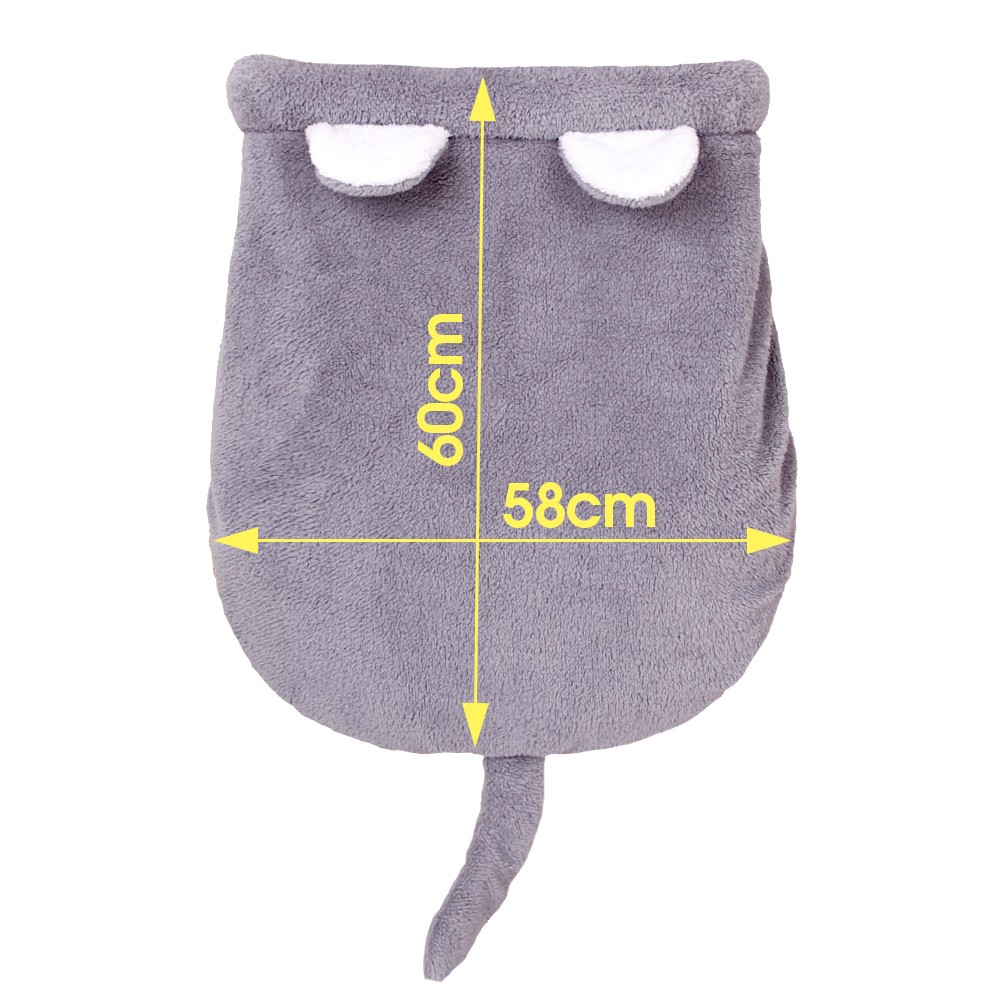Cat Shape Cat Bed Cave - 4 Colors