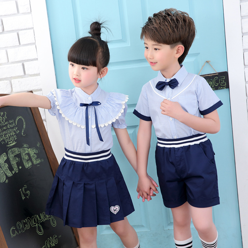 Kindergarten Park Service Summer New Pattern Small And Medium Student Children School Uniform Suit School Boys Girls Show Serve yale service manuals class 4 [2014] wiring diagrams and service manuals