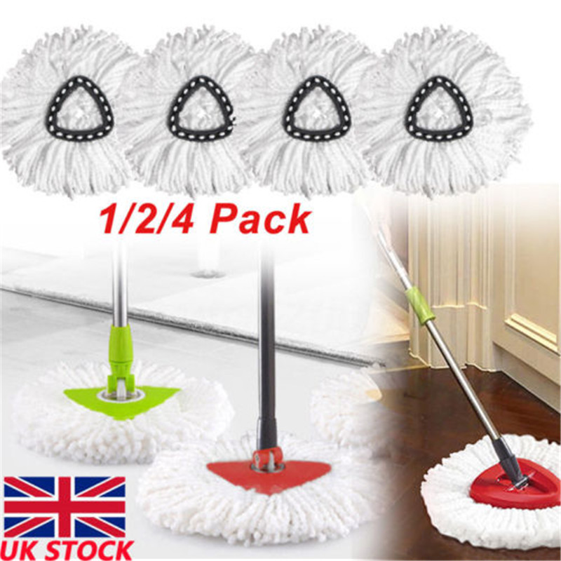 Spin Mop Easy Clean Mopping Wring Replacement Heads for Vileda clean(China)