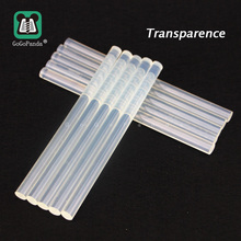 (10PCS/Lot) Non-Toxic Transparent 11mm X190mm Hot Melt Glue Sticks for DIY