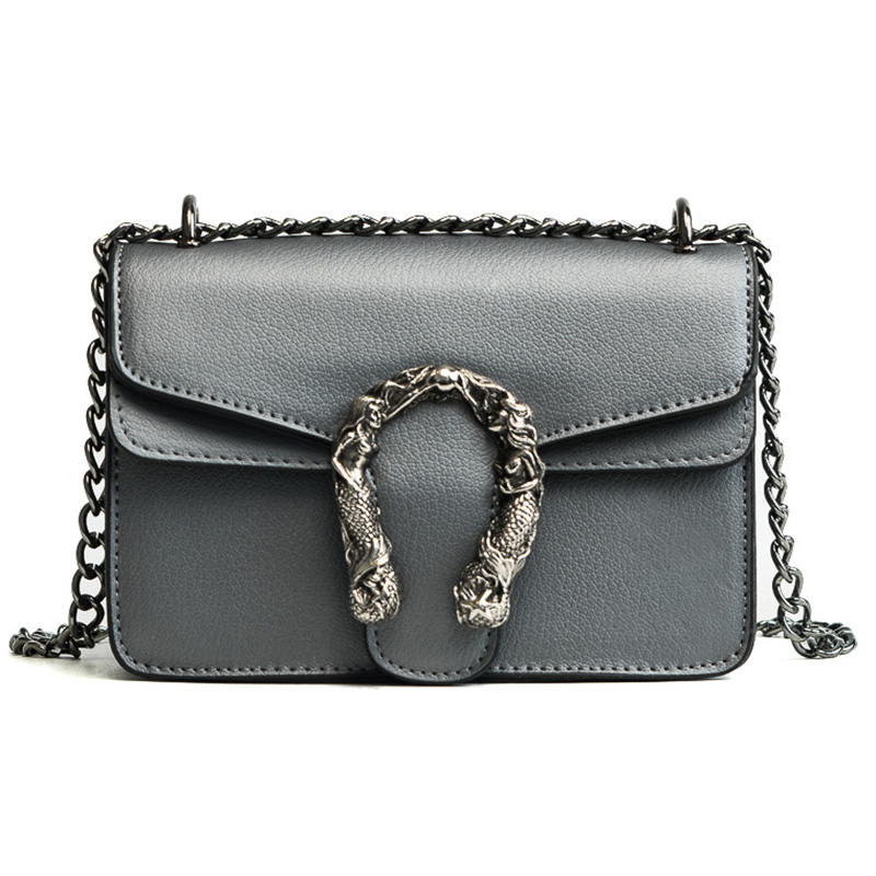 2018 Chains Women Shoulder Bags Small Black Fashion Women Bags Candlelight Leather Small Flap Bags Diagonal Lady Girls Handbags 3