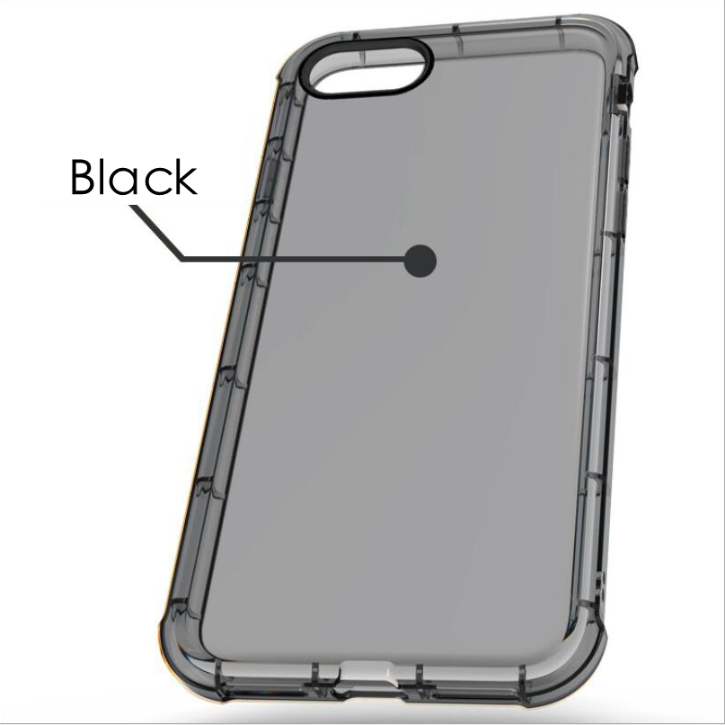 black transparent iphone 6 case