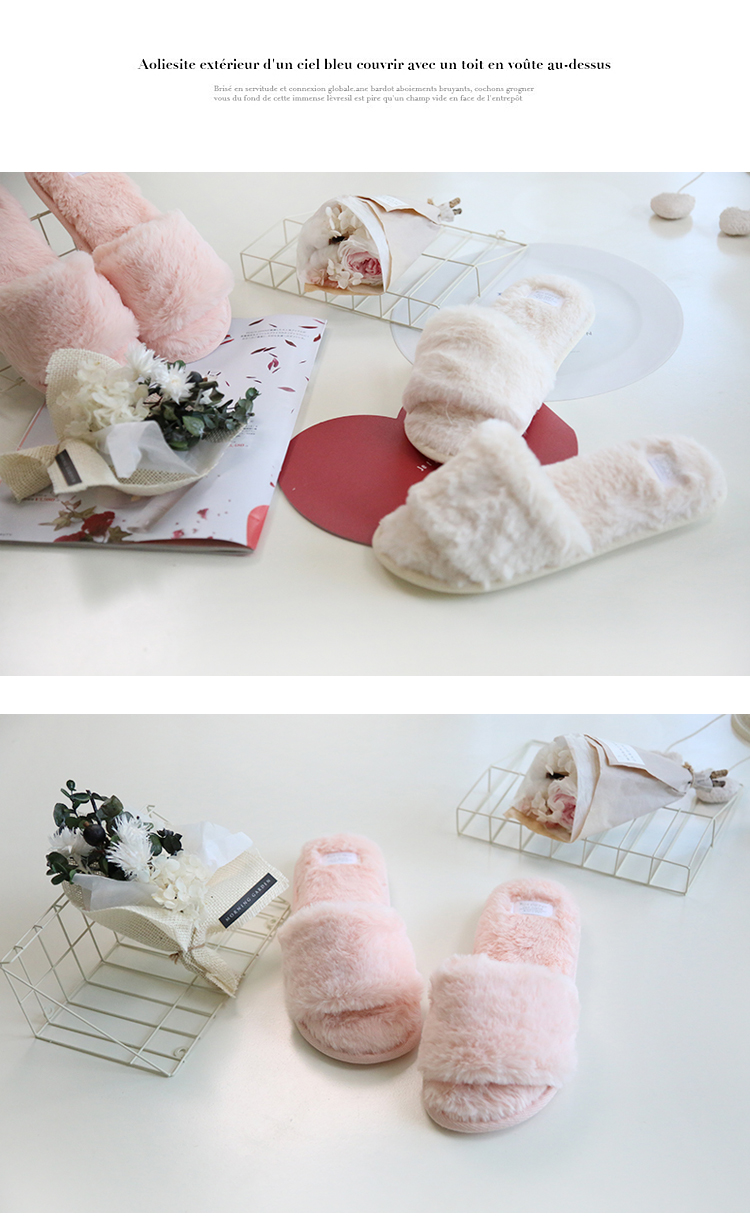 df4d742c3 ... ice velvet slippers plush slippers open toe slippers fluffy slipper  shoes. Size: Lady US 5/6/7/8 =EUR 36/37/38/39. bulk wholesale. Pictures  without LOGO ...