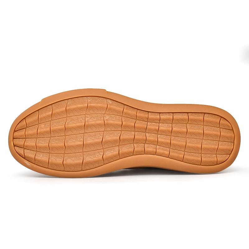 Chaudes Plush Occasionnels Chaussures Bottes Plein Walkerpea leather Hommes Inside Inside Short High Cuir Hiver Respirant Top short Inside Air Véritable Cheville En 8adawPOx