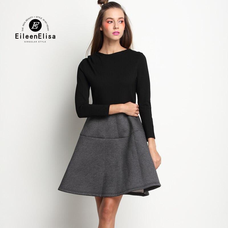New 2017 Casual Dress Women Elegant Runway Cotton