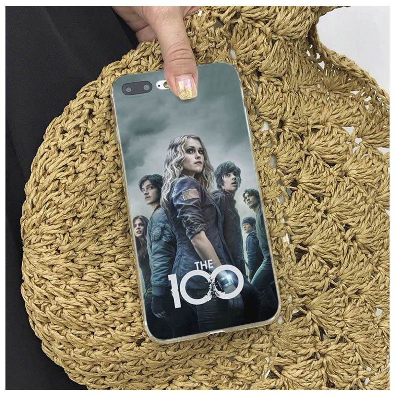 TV Show The 100 The Hundred For iphone 6 6s Special Offer Luxury phone case for iPhone 5s 5 8 7 6SPlus X XS XR XSmax 7plus 8plus in Half wrapped Cases from Cellphones Telecommunications
