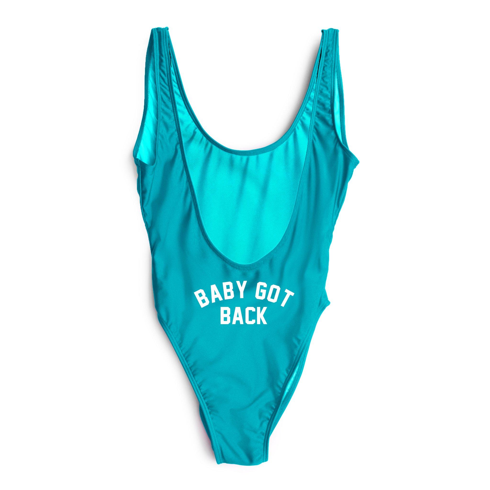 6ac60fcc6c PEACH EMOJI // BUTT PRINT California Women Swimsuit One Piece ...