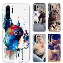 whimsical colorful french bulldog phone Case for Huawei P30 P30 Pro P9 P10 P20