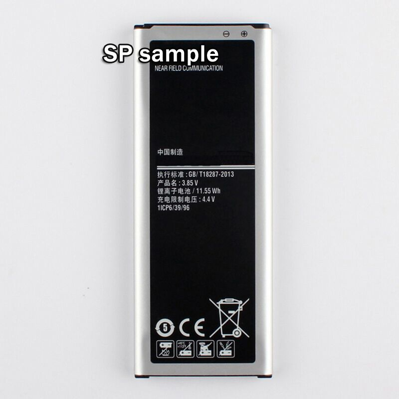 100 New Mobile Phone Replacement Battery EB BN916BBC For Samsung GALAXY NOTE4 n9100 N9108v N9106w 3000mAh
