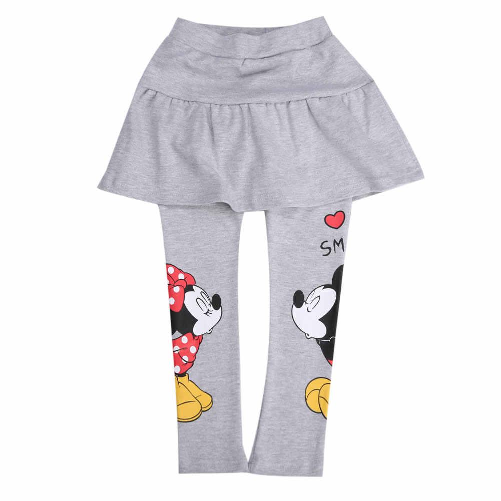 เด็กวัยหัดเดินเด็กเสื้อผ้าเด็กทารกกางเกง Tutu กระโปรงกางเกง Leggings-minie Mouse