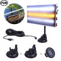 PDR Tools Lamp LED Light Aluminum Reflector Board Paintless Dent Removal Car Repair Kit Auto Repair Tool Sets Removing Dents