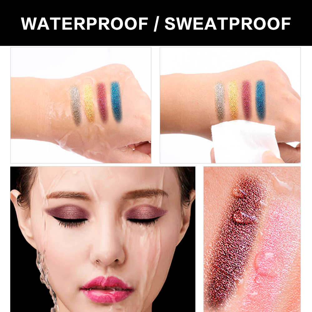 ... SACE LADY Glitter Eyeshadow Makeup Liquid Shimmer Eye Shadow Metals Illuminator  Glow Kit Make Up Highlighter ... 7d98c23cc8a6