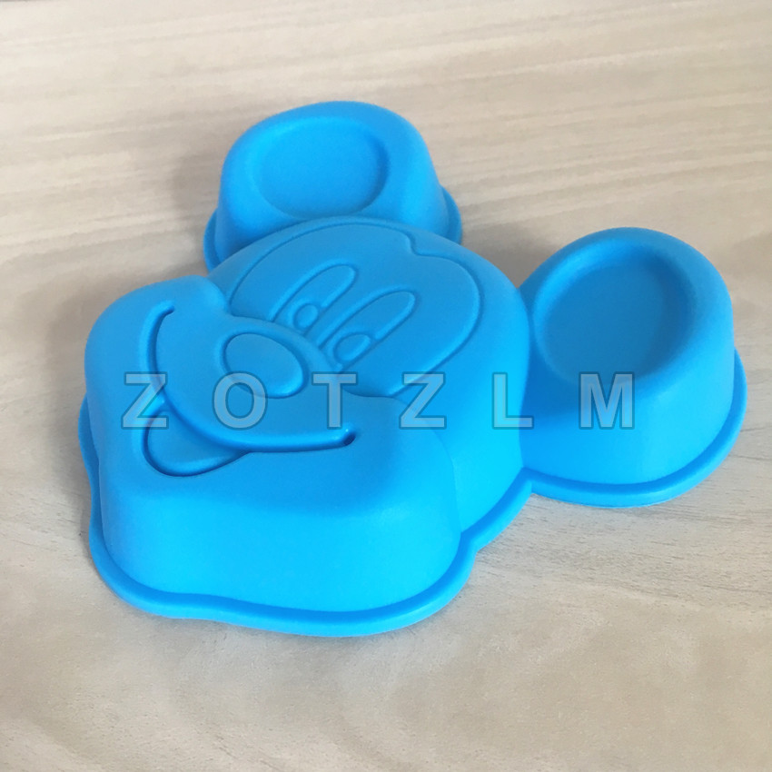 Yonghao Hot Diy Cartoon Mickey Mouse Cake Molds Silicone Mold Cake Decorating Tools Cake Mould Cute Kitchen Accessories M65 Kitchen,dining & Bar