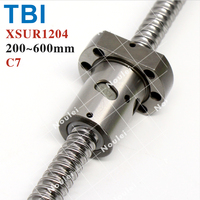 TBI Ballscrew 1204, 200mm to 600mm Ball Screw 1204+Ball Nut SFU1204