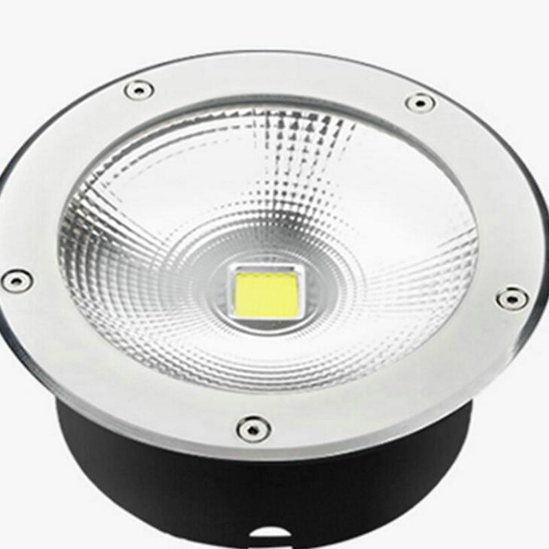 Free shipping IP68 Waterproof 20W COB LED flood lighting Outdoor Lamp LED Spot Floor Garden Yard LED Underground light