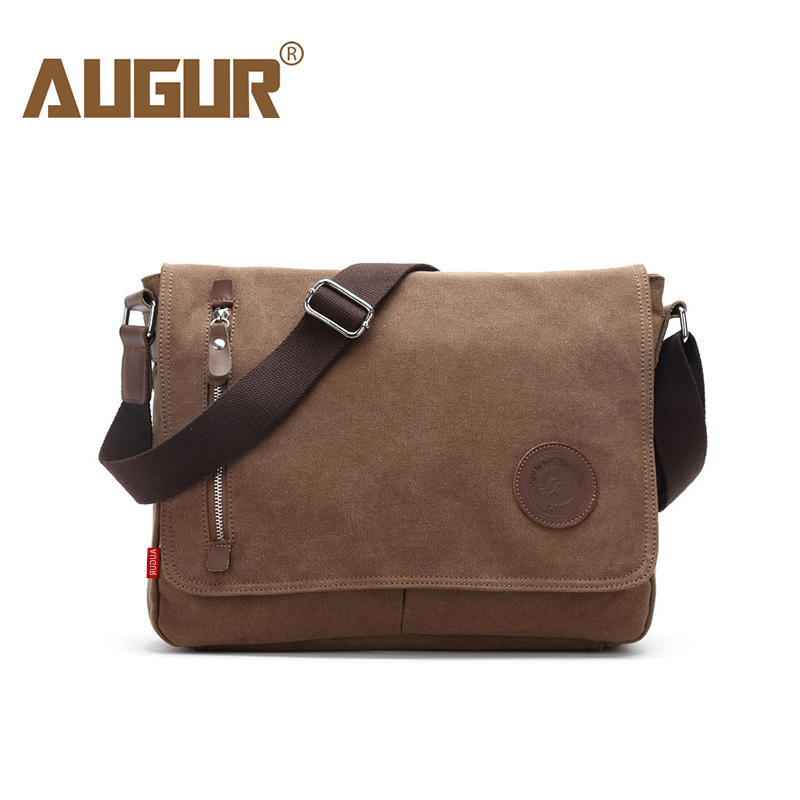 AUGUR 2018 Newly Arrived Men's Canvas Bags Casual Travel Bolas Masculina Men's Messenger Fashion Crossbody Small Bag Shoulder augur fashion chest bag messenger casual canvas crossbody men shoulder bag 2 sling multifunction small travel bag