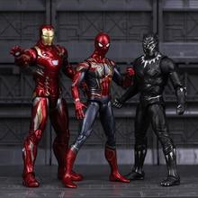 Marvel Avengers Endgame Iron Man Spiderman Spider Ironman Thanos Thor Hulk Captain America Action Figure Toys for Children Boys