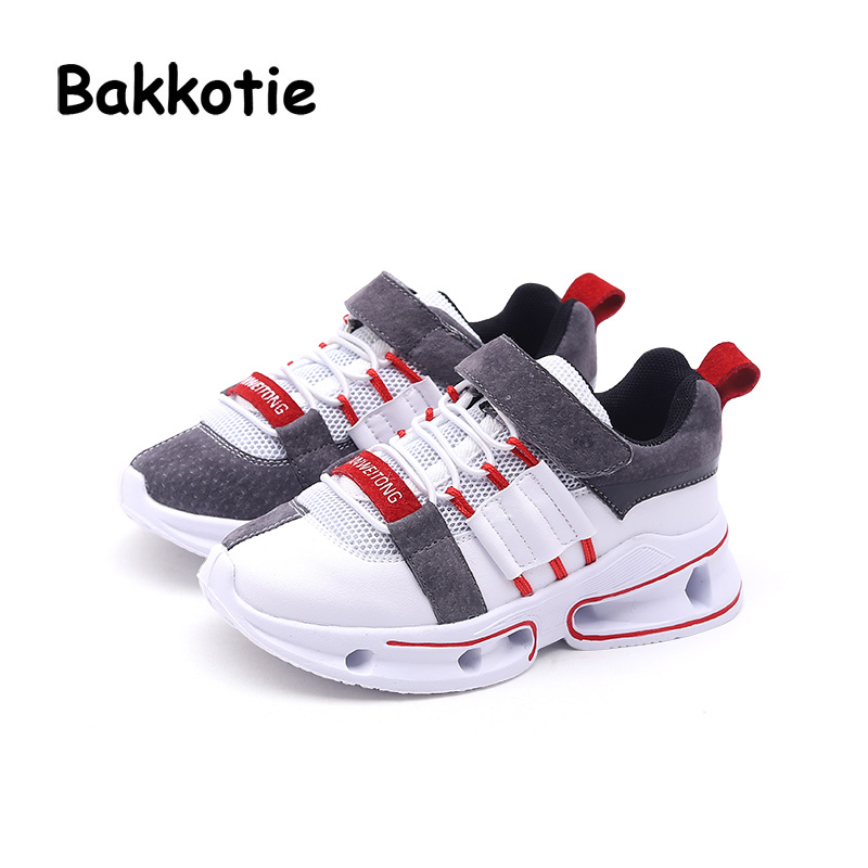 Bakkotie 2018 Spring Baby Boy Fashion Genuine Leather Shoes Child Casual Sneakers Kid Mesh Sport Shoes Girl Black Shoes Trainer bakkotie 2018 spring fashion baby boy mesh shoes children casual sneakers kid black sport shoes girl slip on shoes trainer