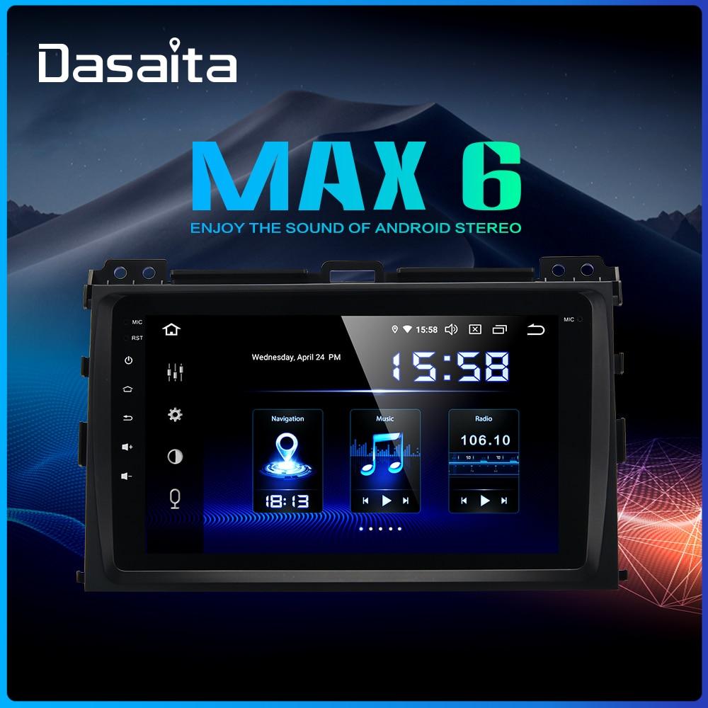 Dasaita Android 9 0 DSP 1din Car Radio for Toyota Prado 120 2004 2005 2006 2007