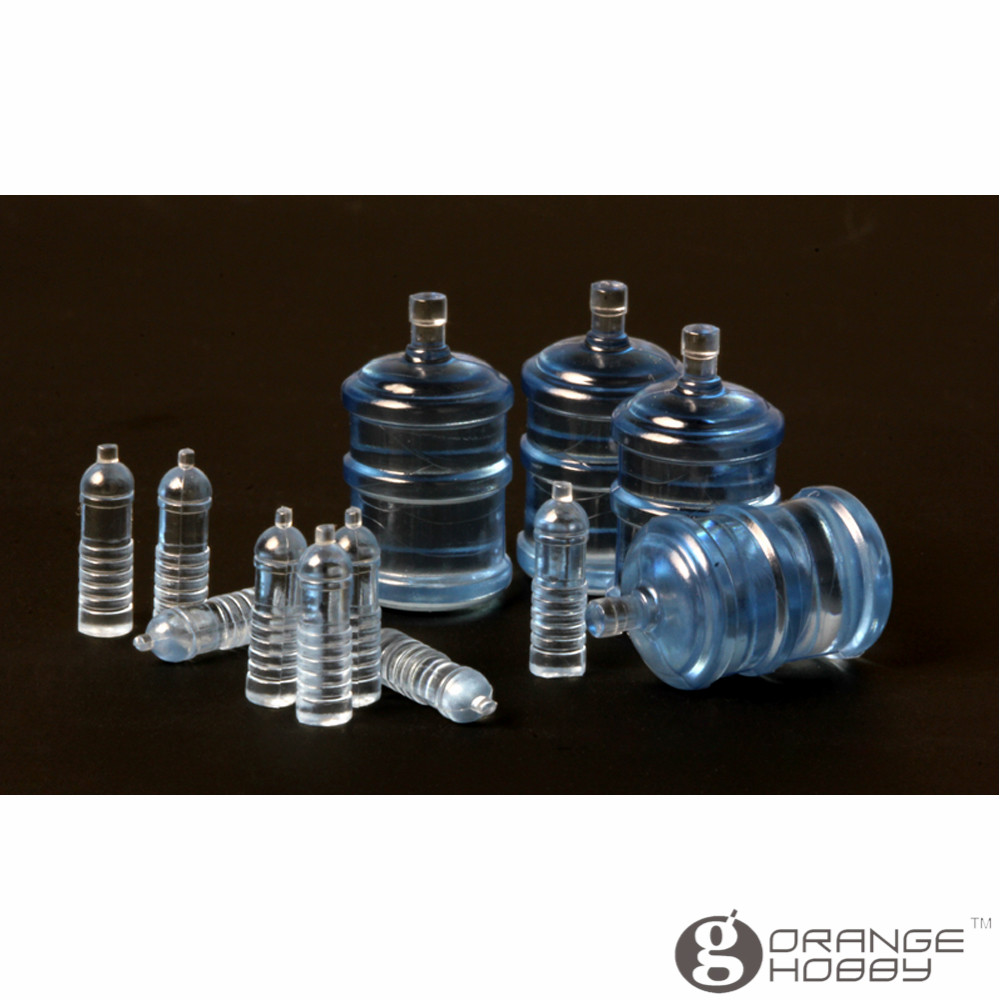 OrangeHobby Meng SPS010 1/35 Drinking Water Bottles for Vehicle/Diorama 2 Types Miniatures Accessories Model Building Kits