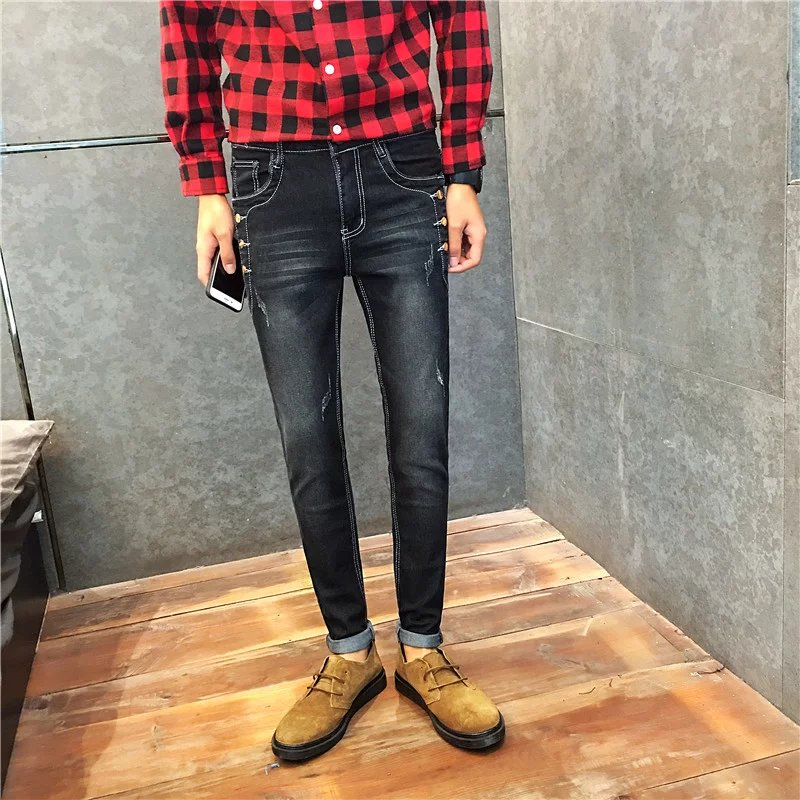 Popular Stylish Skinny Jeans Men-Buy Cheap Stylish Skinny Jeans ...