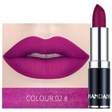 Matte Lipstick Moisture Batom Makeup Long Lasting Velvet Sexy Red Brown Pink Colors Rouge Waterproof Lip Gloss Labial Maquiagem