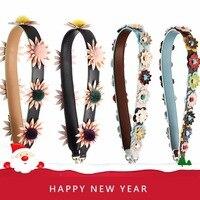 Colorful Flower Replacement Strap For Handbag Genuine Leather Women Shoulder Bag Strap Accessories Belts Famous Brand Strap S169