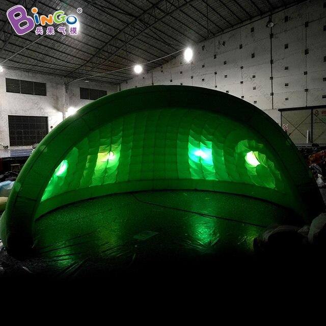Neueste Design Aufblasbare Kuppel Zelt Garten Iglu Zelt Beleuchtung