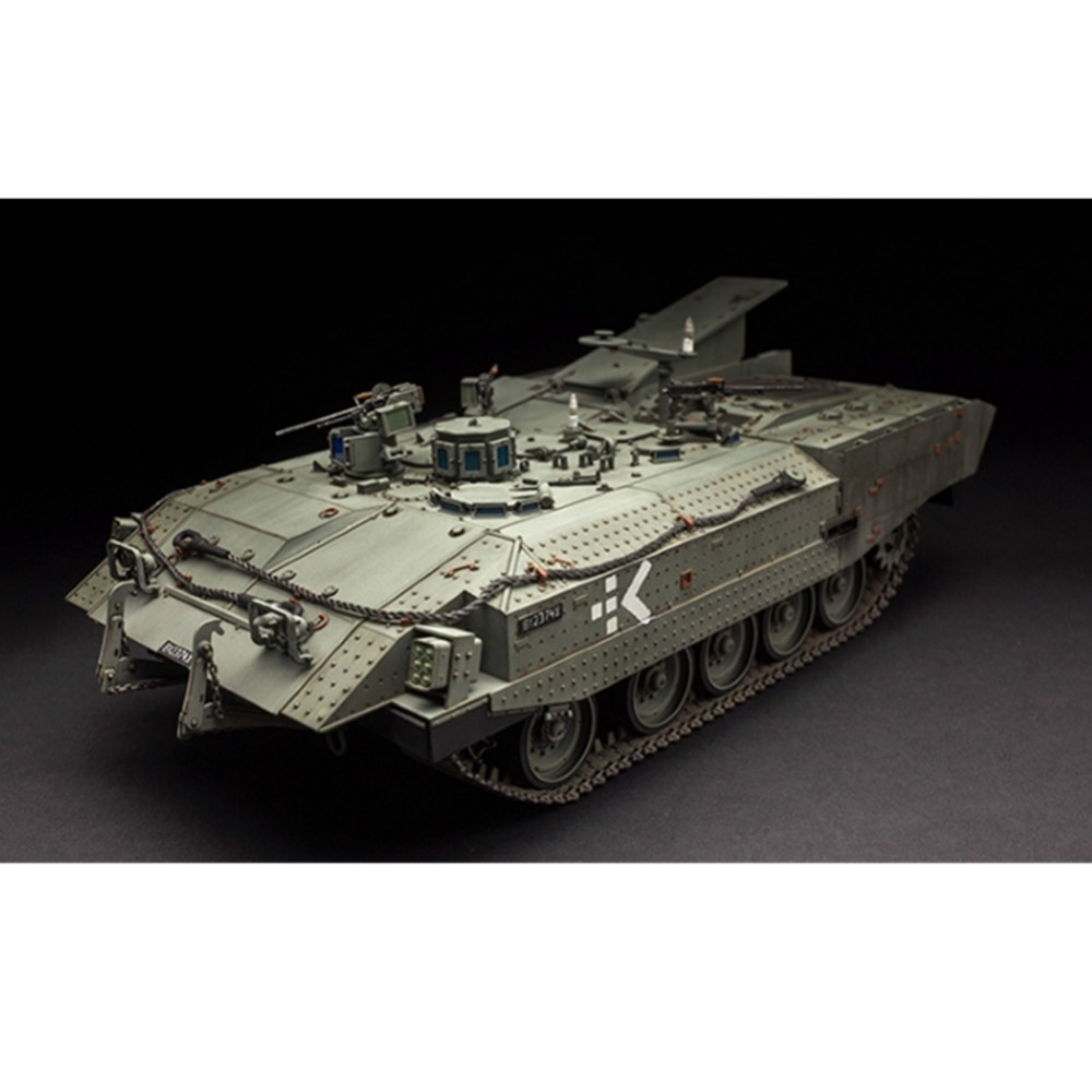 OHS Meng SS008 1/35 Israeli Achzarit Heavy Armoured Personnel Carrier Late Plastic AFV Model Building Kits купить