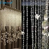 Home Wider Ouneed Garland Diamond Strand Acrylic Crystal Bead Curtain Home Party Wedding DIY Decor 916
