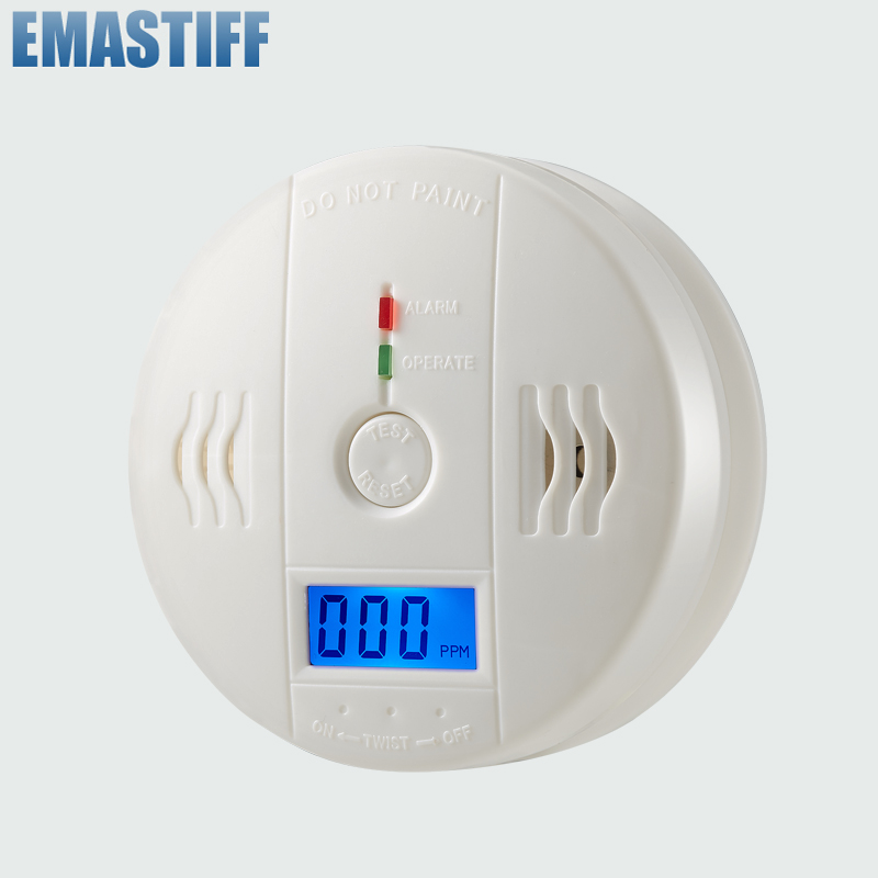 Honest Leshp 85db Digital Lcd Backlight Co Carbon Monoxide Alarm Detector Tester Co Gas Sensor Alarm 85db For Home Security Back To Search Resultssecurity & Protection