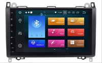 9 дюймов, автомобильный, мультимедийный плеер 2 din автомобильный радиоприемник gps Android 8,0 стерео Системы для Mercedes Benz/Sprinter/W169/B200/B class DSP OBD2