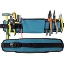Multifunctional Tool Bag Electrician Tool Belt Waterproof Oxford Tools Kit Pockets & Waist Belt B Type