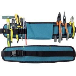 Multifunctional tool bag electrician tool belt waterproof oxford tools kit pockets waist belt b type.jpg 250x250