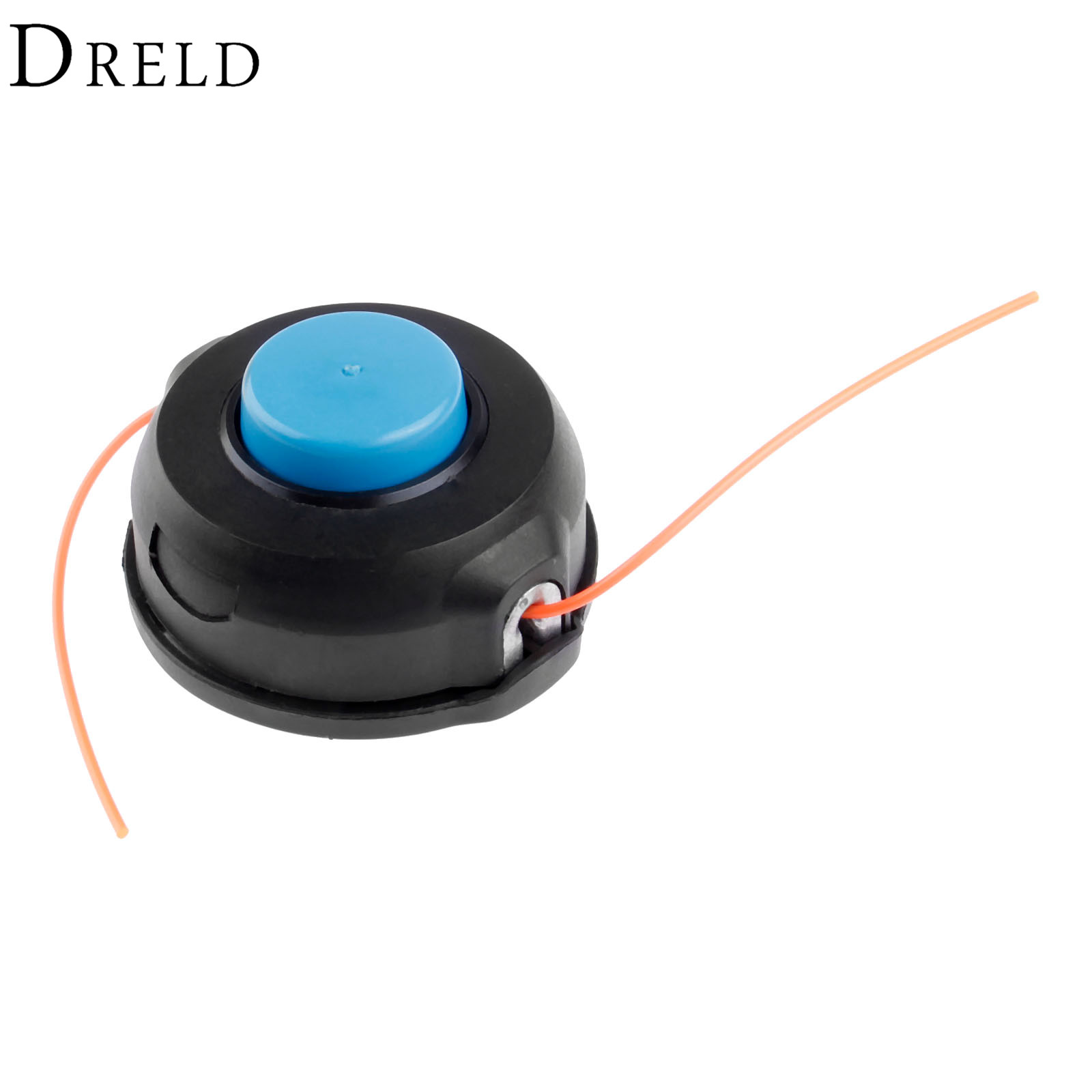 DRELD T25 Trimmer Head Shaft Line String Grass Cutter Bump Tap and Go Nylon Head With M10*1.25 Brush Cutter Spare Parts carburetor for stl fs160 fs200 fs280 fr220 brush cutter parts replacement trimmer weed eater grass cutter carbs 41191200602 04