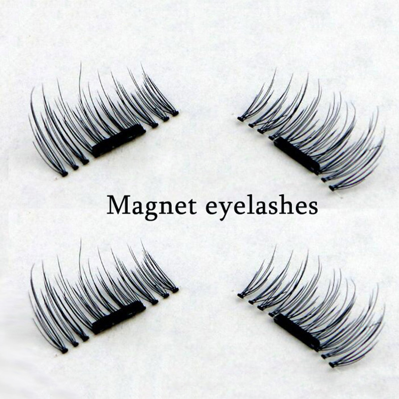 4 Pcs/Pairs Magnetic Eyelashes Extension Eye Beauty Makeup ...