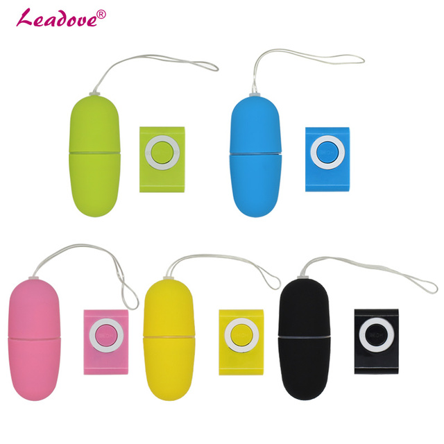 200 pcs/lot Waterproof Portable 20 Speed G-Spot Vibrator Clitoral Remote Control Wireless MP3 Sex Eggs Sex Toys For Woman TD0062