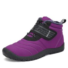 Natal Sepatu Bot Musim Dingin Pria Tahan Air Salju Sepatu Anti Selip Sepatu  Hiking Pria Outdoor 3895c0bb27