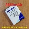 2850 мАч BM60100 Аккумулятор Для HTC Desire 400 (двойной) 500 506e 600 606 Вт T606W T608T T609D Z4 Один SC/ST/SU/С. В. C525E C525c T5088 T528d