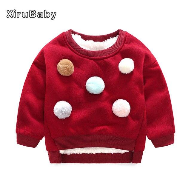 e32ffee5dfc5 Winter Children Fleece Sweaters Kids Girls Boys Long Sleeve Casual ...