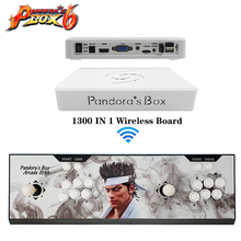 china supplier best new Pandora Boxs 6 controller VGA and HIDM output with 1300 in 1 game