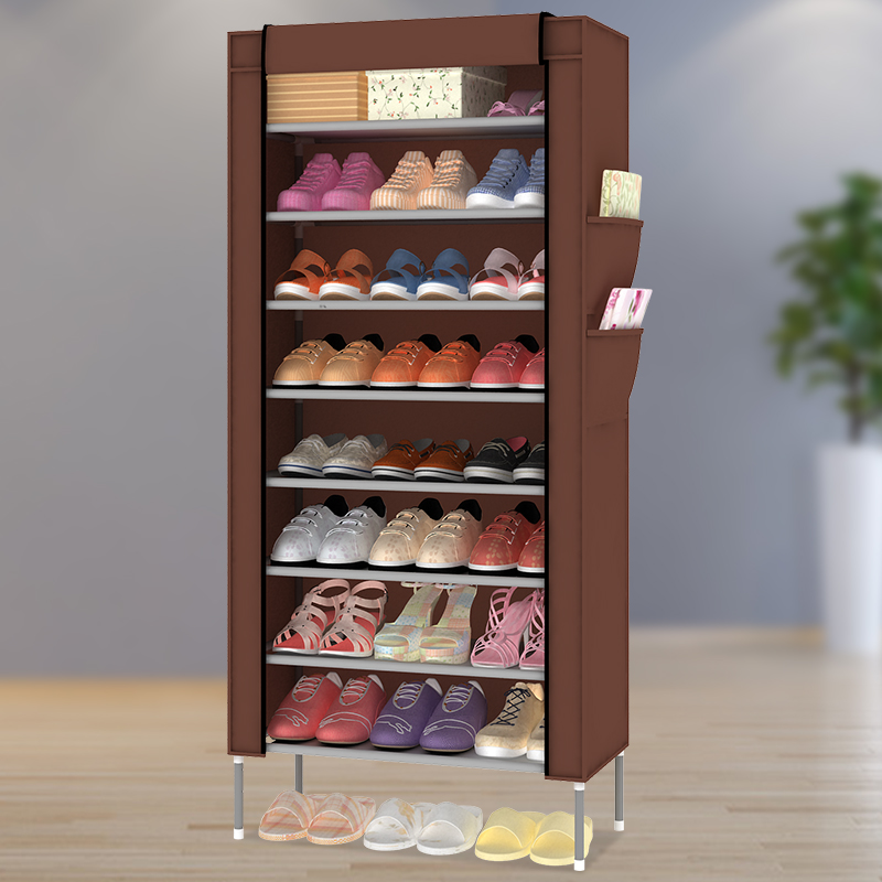 Simple small shoe hall cabinet modern minimalist open door for Minimalist household items
