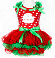 new 2015 Girls summer dress christmas,baby girl clothing kids clothes,princess christmas tree snowman bow dot dress