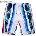 Beach Shorts Men Boardshorts Fashion Summer Wear Quick Drying Breathable Shorts Masculina Surfs Brand Plus Size Swim Short 234