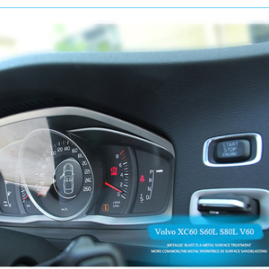 Image 5 - כוונון מיוחד מכשיר פנל דקורטיבי מסגרת נירוסטה עבור וולוו XC60 S60 S80V60 אוטומטי אביזרי פנים רכב סטיילינג