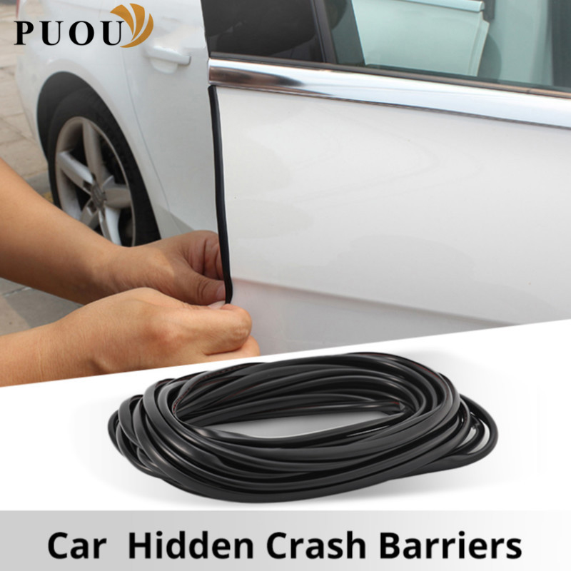 5M Car Edge Guards Trim Strip Accessories Sticker For Peugeot 307 308 407 206 207 3008 406 208 2008 508 408 306 301 106 107 607