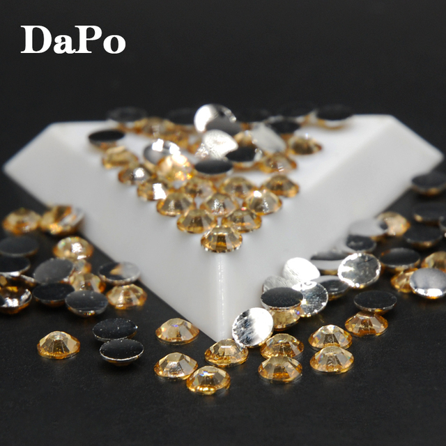 966483d424 US $1.62 10% OFF|Nail Art Rhinestone Acrylic FlatBack Round Beads Strass  Light Brown Color Crystal Stones For Dress Decorations 2,3,4,5,6mm-in ...